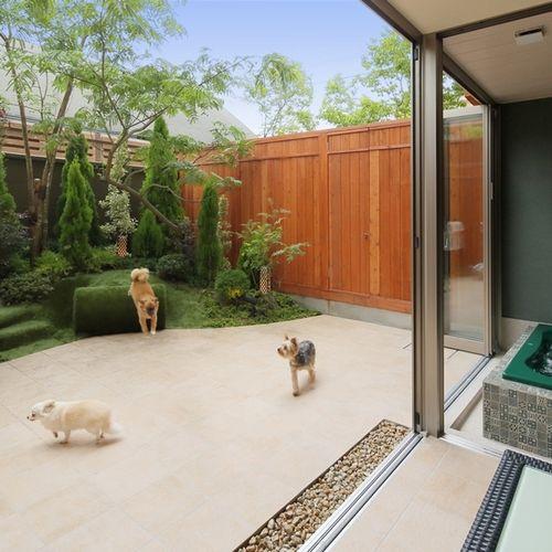 愛犬と遊べるプライベートガーデン
