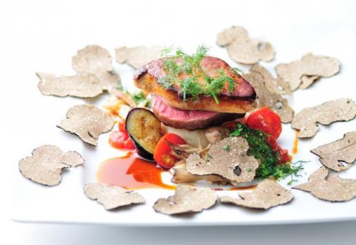 伊豆牛フィレ肉とフレッシュフォアグラ