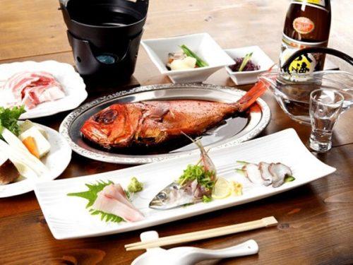 夕食「伊豆山海和食膳」