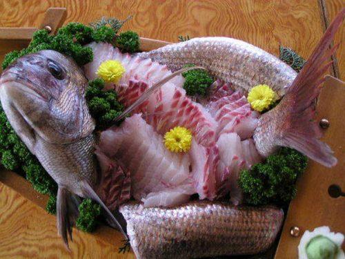 地魚活造り