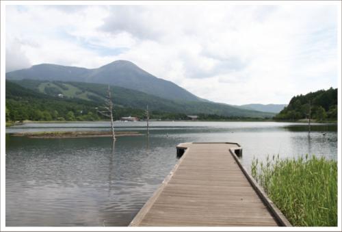 女神湖まで徒歩10分