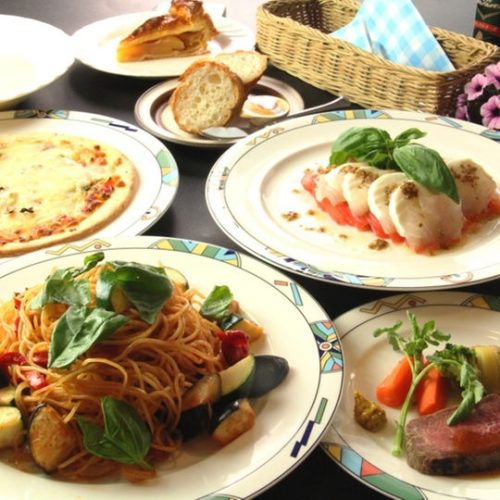 イタリアンの夕食