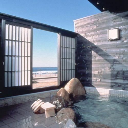オーシャンビューの露天風呂