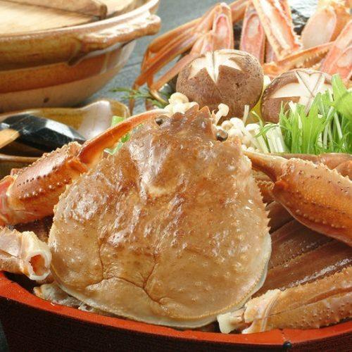 【鍋物】蟹すき鍋