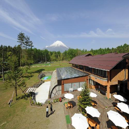 富士山が見えるドッグラン